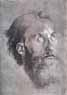 Albrecht D�rer, Head of an apostle looking upward