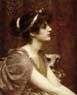 John William Godward (British, 1861-1922),  A Classical Beauty