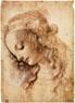 Da Vinci, Cabeça de mulher, estudo