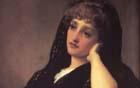 Frederic Leighton (British, 1830-1896), Memories, detail
