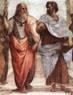 Rafael, Escola de Atenas, detalhes