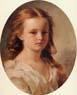 Franz Xavier Winterhalter, retrato de Roza Potocka