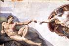 Michelangelo, 1475-1564, Teto da Capela Sistina, detalhe