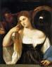 Tiziano, Mulher ao espelho