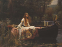 John William Waterhouse , 1849-1917 -The Lady of Shalott