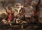 Poussin, Venus Presenting  Arms to Aeneas
