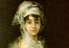 Goya, Antonia Zarate, detalhe