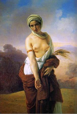 Ruth, by Francesco Hayez